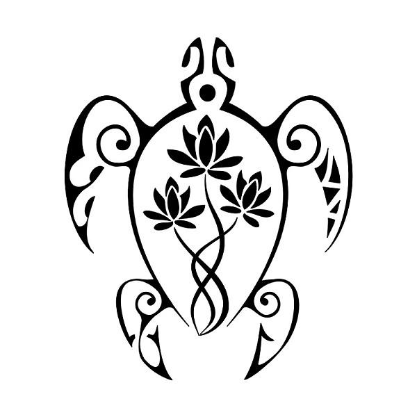 Hawaiian Turtle Tattoo