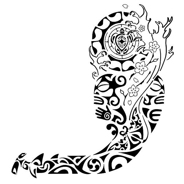 Татуировки полинезийские узоры