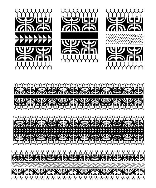 Полинезия узоры эскизы